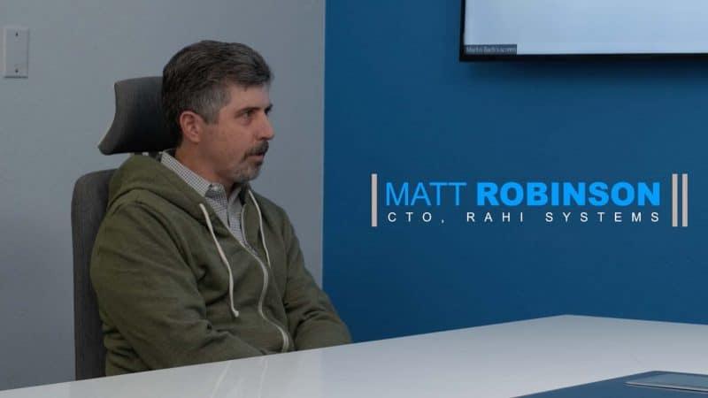 Matt Robinson CTO Rahi